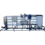 Automatic Industrial RO with stand, Grundfos pump and CIP system