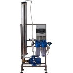 Manual small Industrial or labor RO with stand or wall-mounted